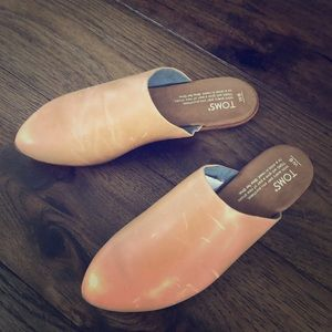 Toms Shoes - TOMS Honey Leather Jutti Mules